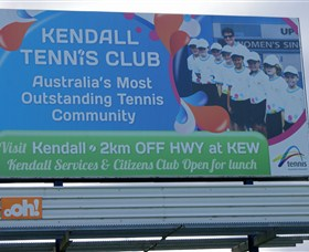 Kendall Tennis Club Logo and Images