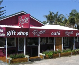 Rosies Cafe and Gallery Logo and Images