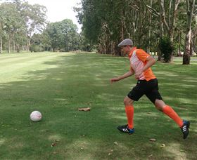 FootGolf at Teven Valley Golf Course Logo and Images