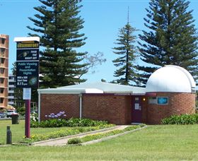 Port Macquarie Astronomical Observatory Logo and Images