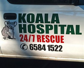 Koala Hospital Logo and Images