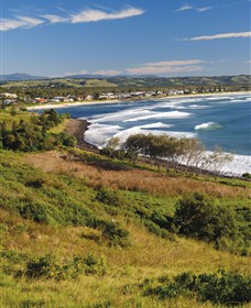 Lennox Head Beach Logo and Images