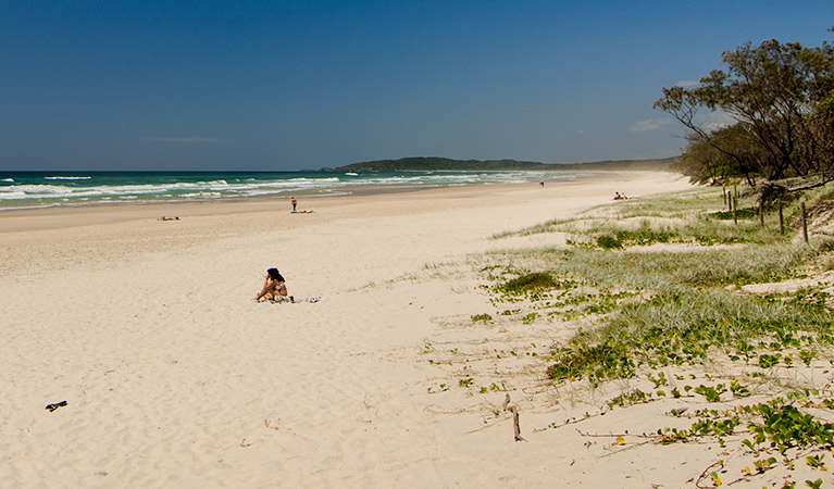 Tallow Beach Logo and Images