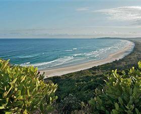 Cape Byron Headland and Lighthouse Logo and Images