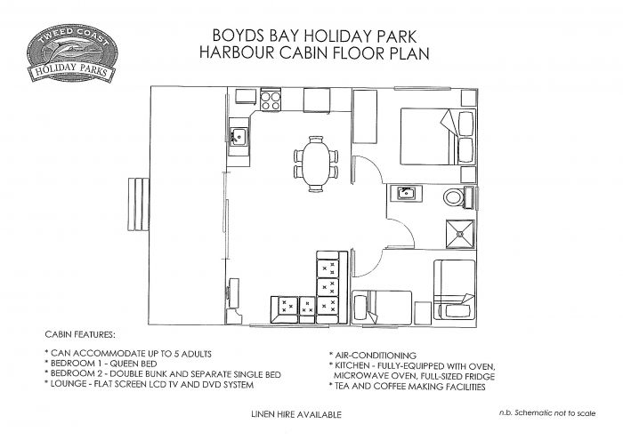 Boyds Bay Holiday Park Logo and Images