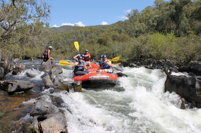 Rafting Australia Logo and Images