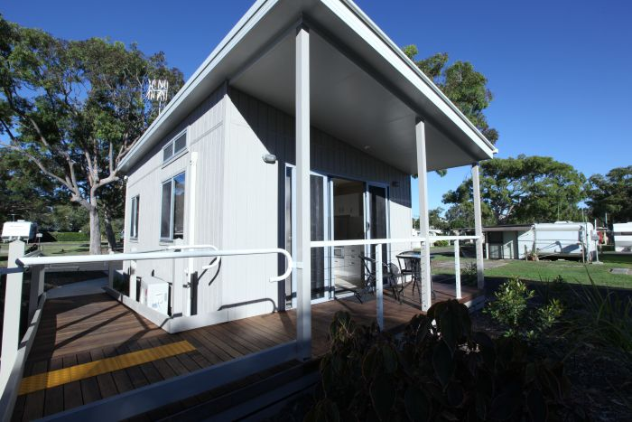 Fingal Bay Holiday Park Port Stephens Logo and Images