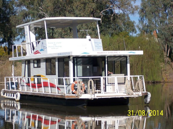 Murray Darling House Boats Logo and Images