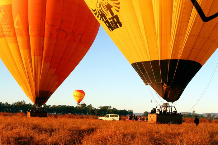 Hot Air Balloon Scenic Rim Logo and Images