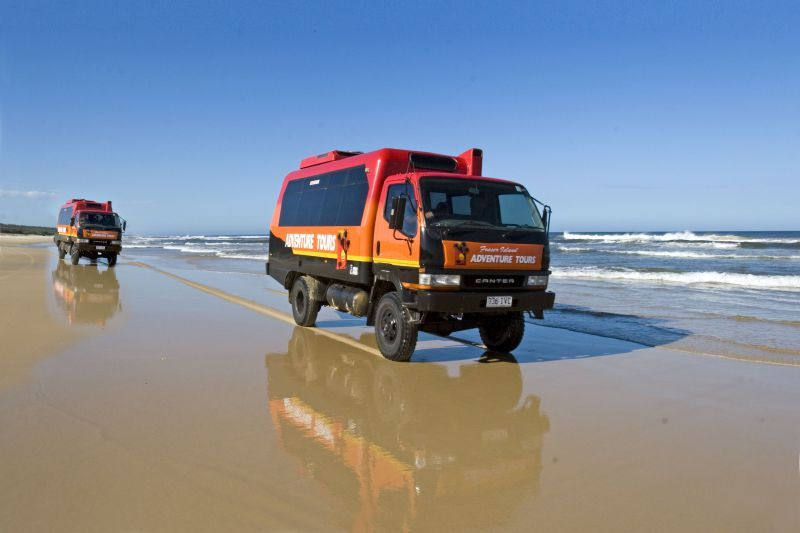 Fraser Island Adventure Tours Logo and Images