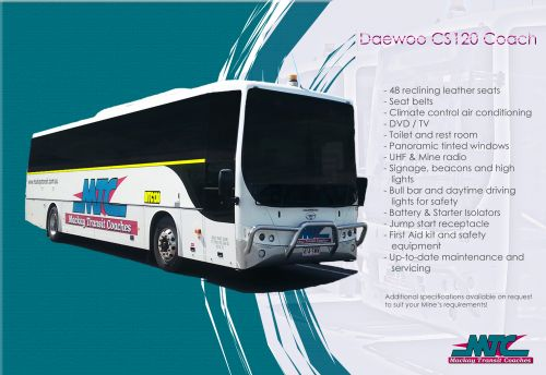 Mackay Transit Coaches Logo and Images