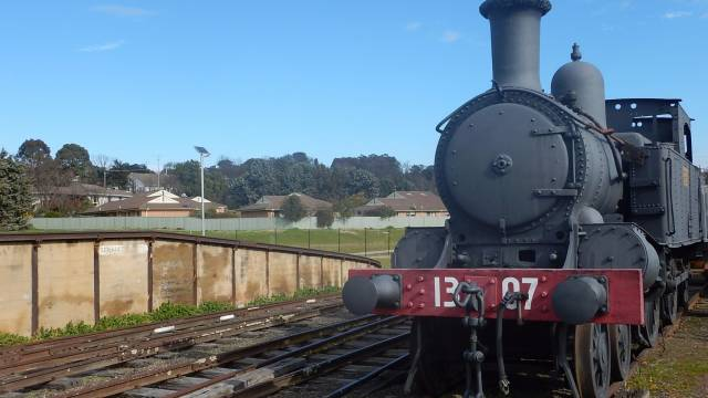 Yass Railway Museum Logo and Images