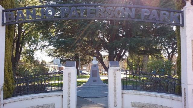 Banjo Paterson Park Logo and Images