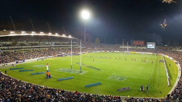 GIO Stadium Canberra Logo and Images