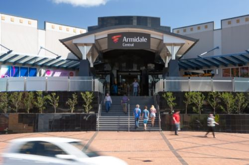 Armidale Central Shopping Centre Logo and Images