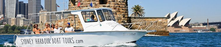 Sydney Harbour Boat Tours Logo and Images