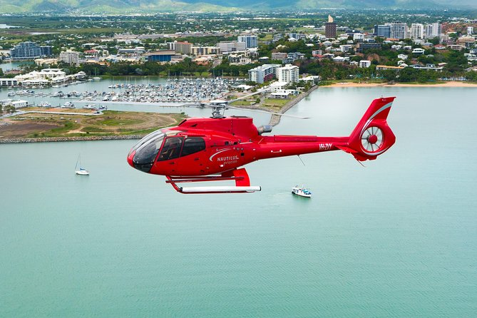 90-Minute Hinchinbrook Island Scenic Helicopter Flight Logo and Images