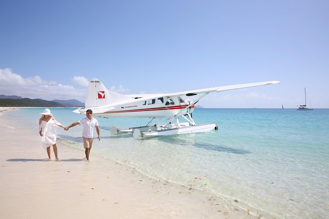 Best of the Whitsundays Seaplane Tour Including Whitehaven Beach Landing Logo and Images