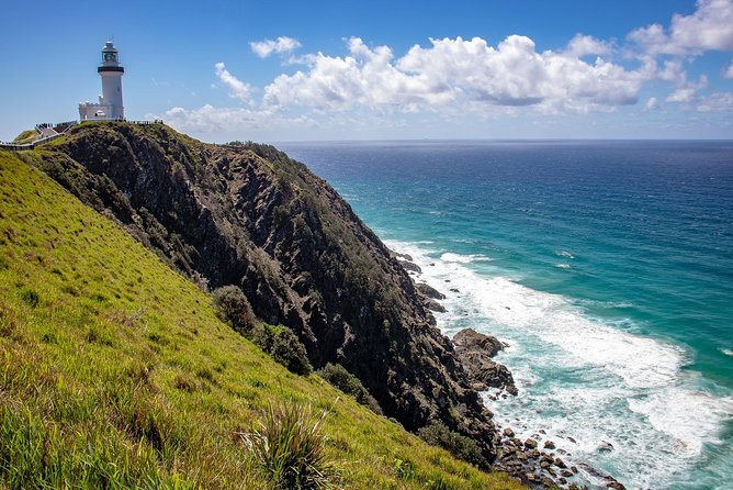 Byron Bay Day Trip from Gold Coast Including Cape Byron Lighthouse Logo and Images