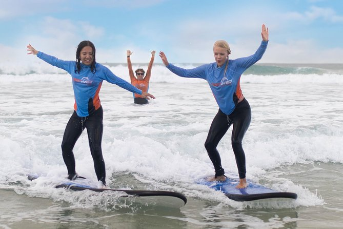 2-Hour Beginners Surf Lesson at Surfers Paradise Logo and Images