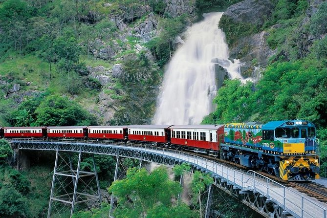 Small-Group Kuranda Village, Skyrail Cableway and Scenic Railway Day Trip from Port Douglas Logo and Images
