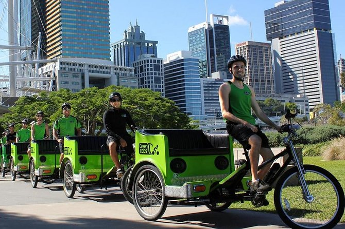Green Cabs Brisbane Tours Logo and Images