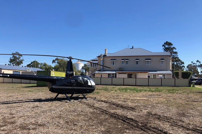 Queensland Country Pub Crawl by Helicopter Logo and Images