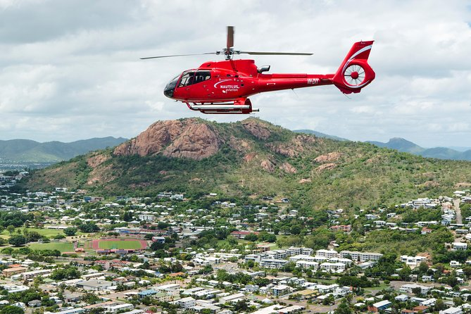45-Minute Cape Cleveland Scenic Helicopter Flight from Townsville Logo and Images