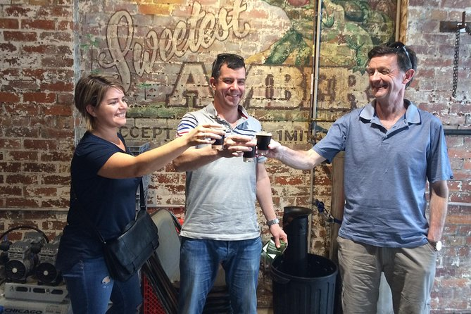 Brisbane Brewery Tour Including Newstead Brewing Co, Green Beacon, Aether and All Inn Logo and Images