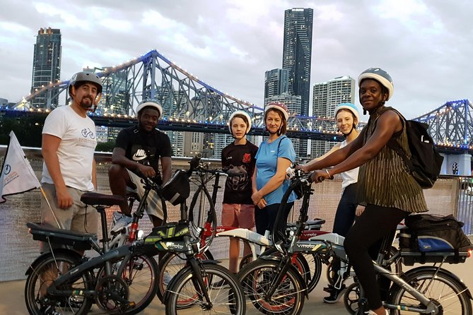 Brisbane City Lights Electric Bike Tour Logo and Images