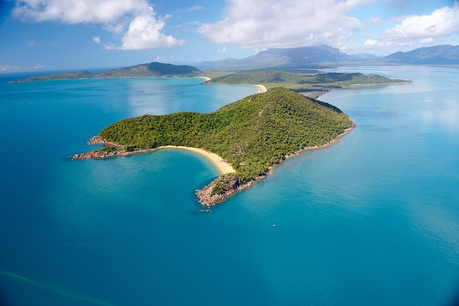 60-Minute Palm Island Scenic Helicopter Flight from Townsville Logo and Images