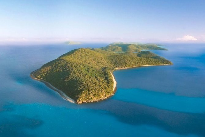 Orpheus Island Day Trip by Helicopter from Townsville Logo and Images