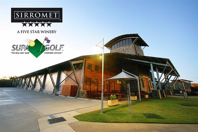 Sirromet Winery Supa Golf Logo and Images