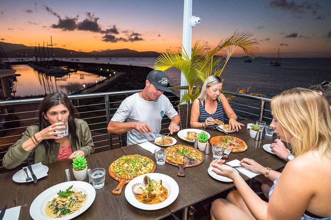 Whitsundays Segway Sunset and Boardwalk Tour with Dinner Logo and Images