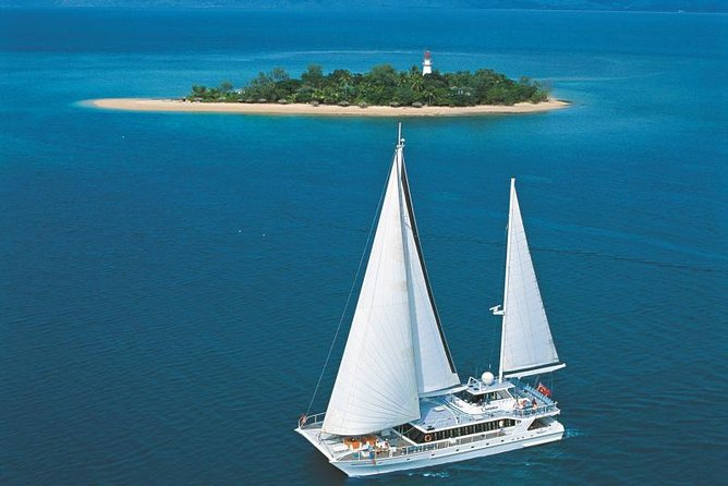 Wavedancer Low Isles Great Barrier Reef Sailing Cruise from Palm Cove Logo and Images