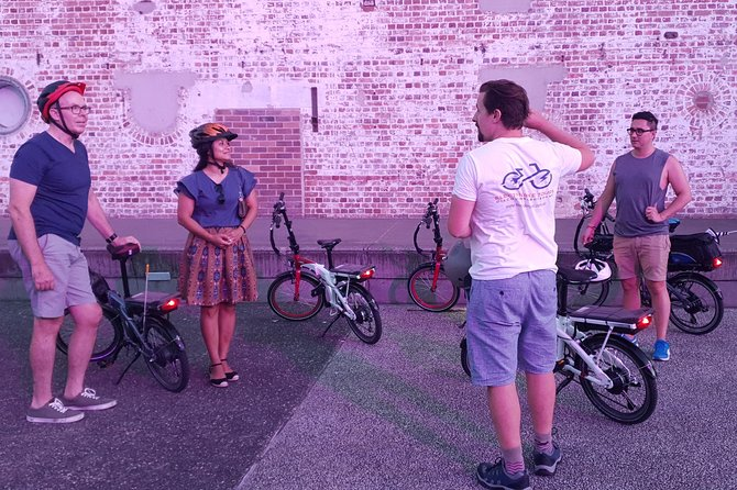 Brisbane City Sight Electric Bike Tour Logo and Images