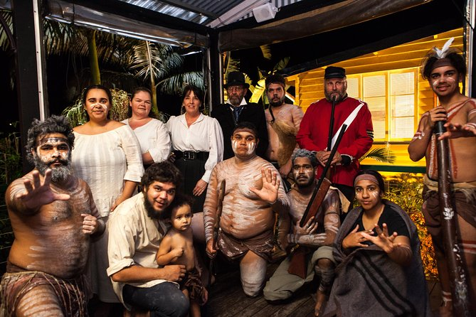 Spirits of the Red Sand Aboriginal Theatre Show and Dinner Logo and Images