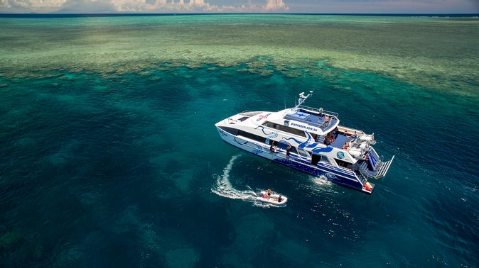 AquaQuest Great Barrier Reef Diving and Snorkeling Cruise from Port Douglas Logo and Images