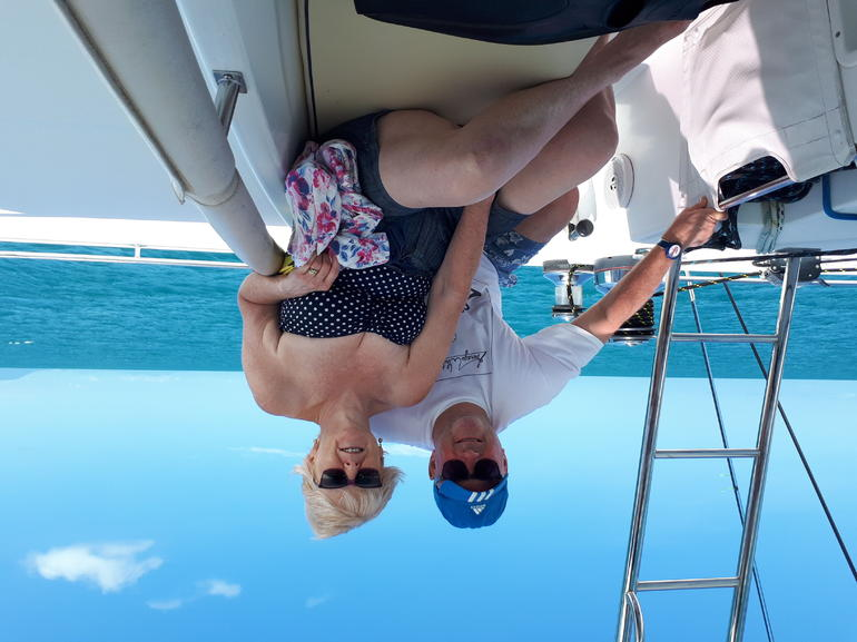 Afternoon Low Isles Snorkeling and Sailing Cruise from Port Douglas Logo and Images