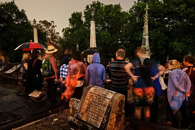 South Brisbane Cemetery Ghost Tour Logo and Images