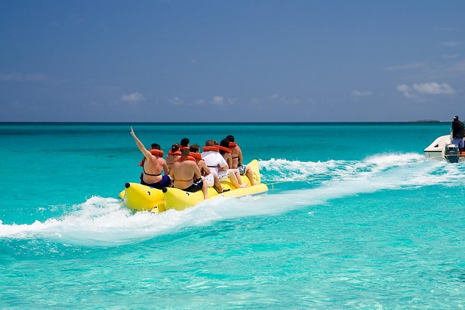 Banana Boat Ride from Airlie Beach Logo and Images