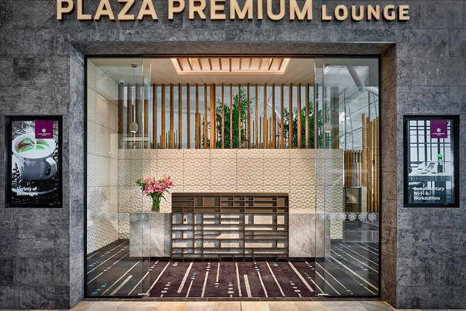 Brisbane Airport International Departure Plaza Premium Lounge Logo and Images