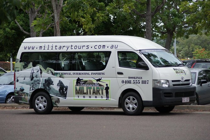 Townsville and the Australian Army: Walking History Tour with Optional City Sightseeing Logo and Images