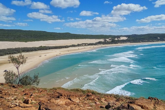 Fraser & Moreton Island 3-Day Scenic 4WD ECO Tour from Brisbane or Gold Coast Logo and Images
