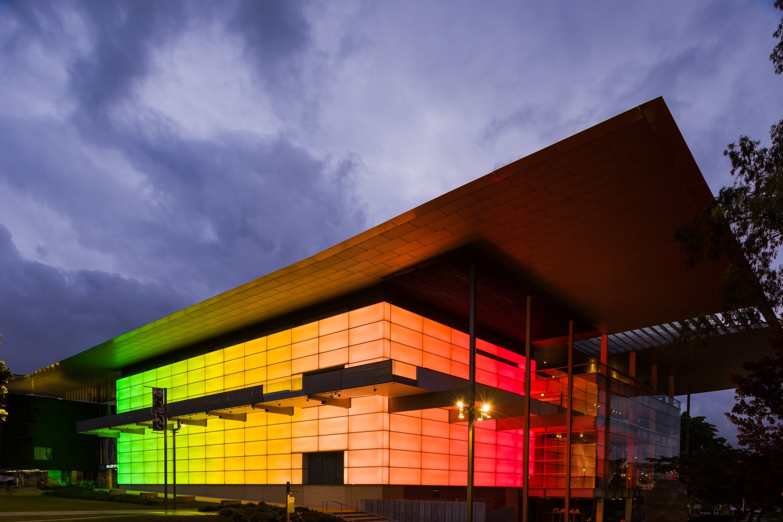 Queensland Art Gallery and Gallery of Modern Art (QAGOMA) Logo and Images