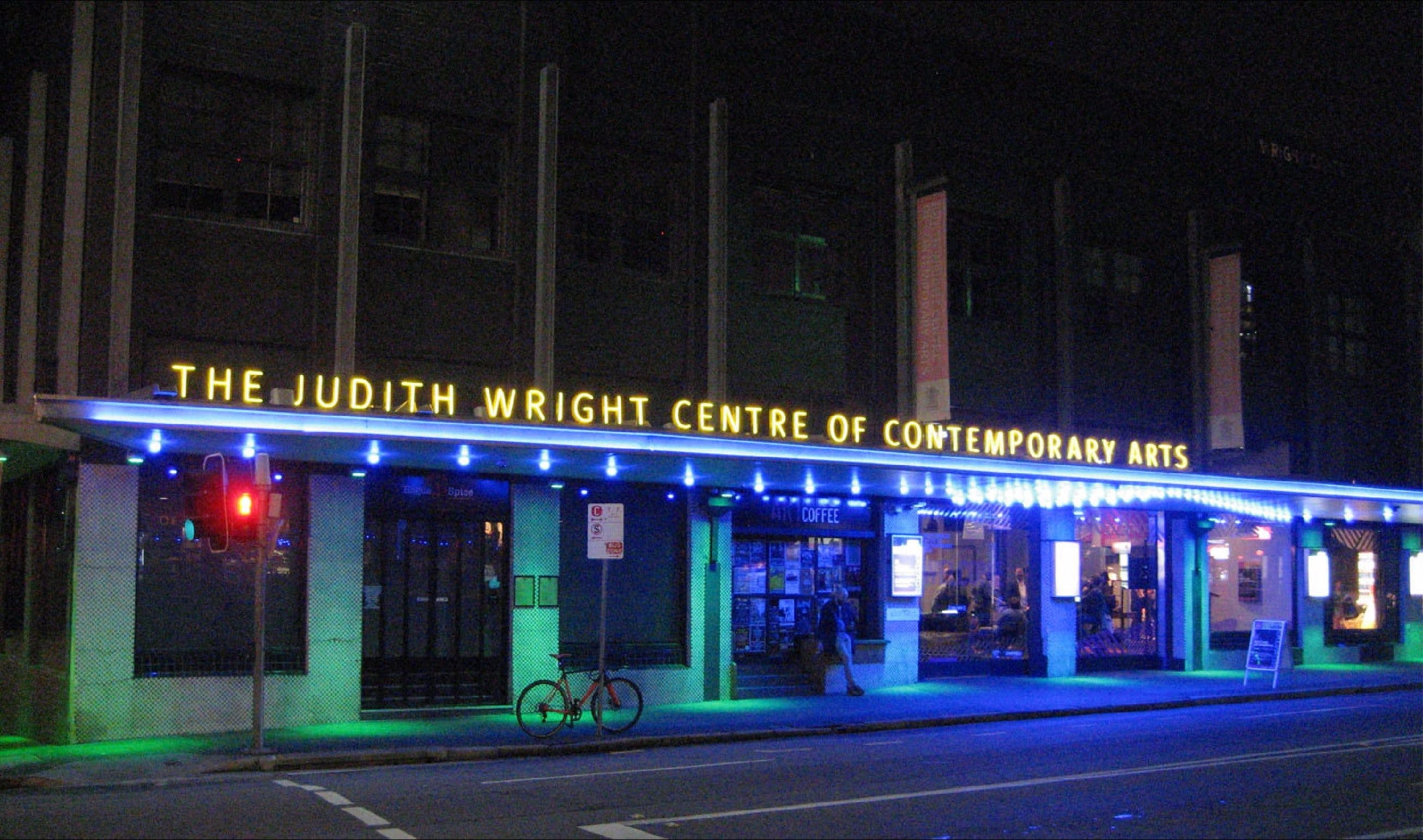 The Judith Wright Centre of Contemporary Arts Logo and Images