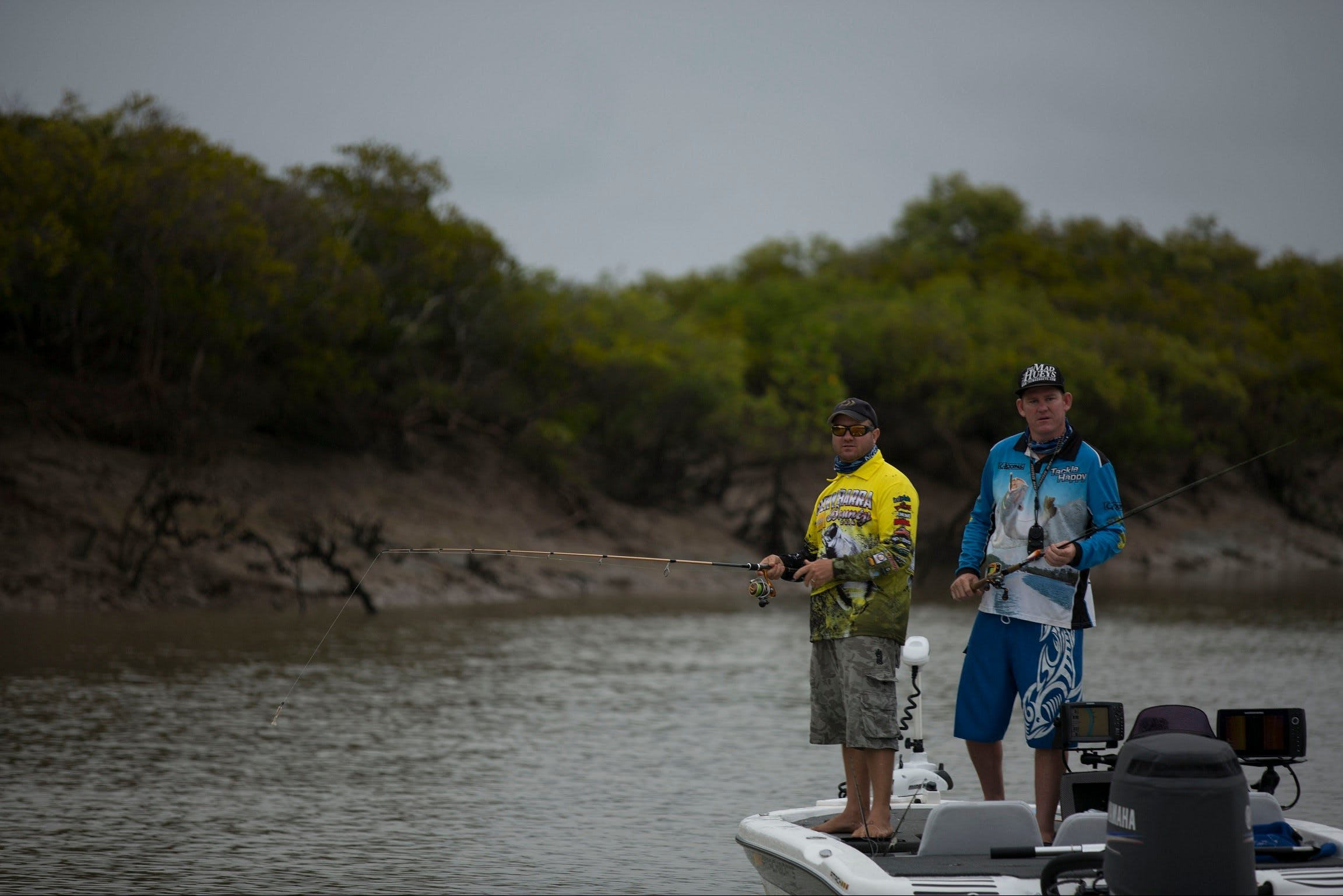 Dominate the Delta - The Rockhampton Delta Fishing Trail Logo and Images