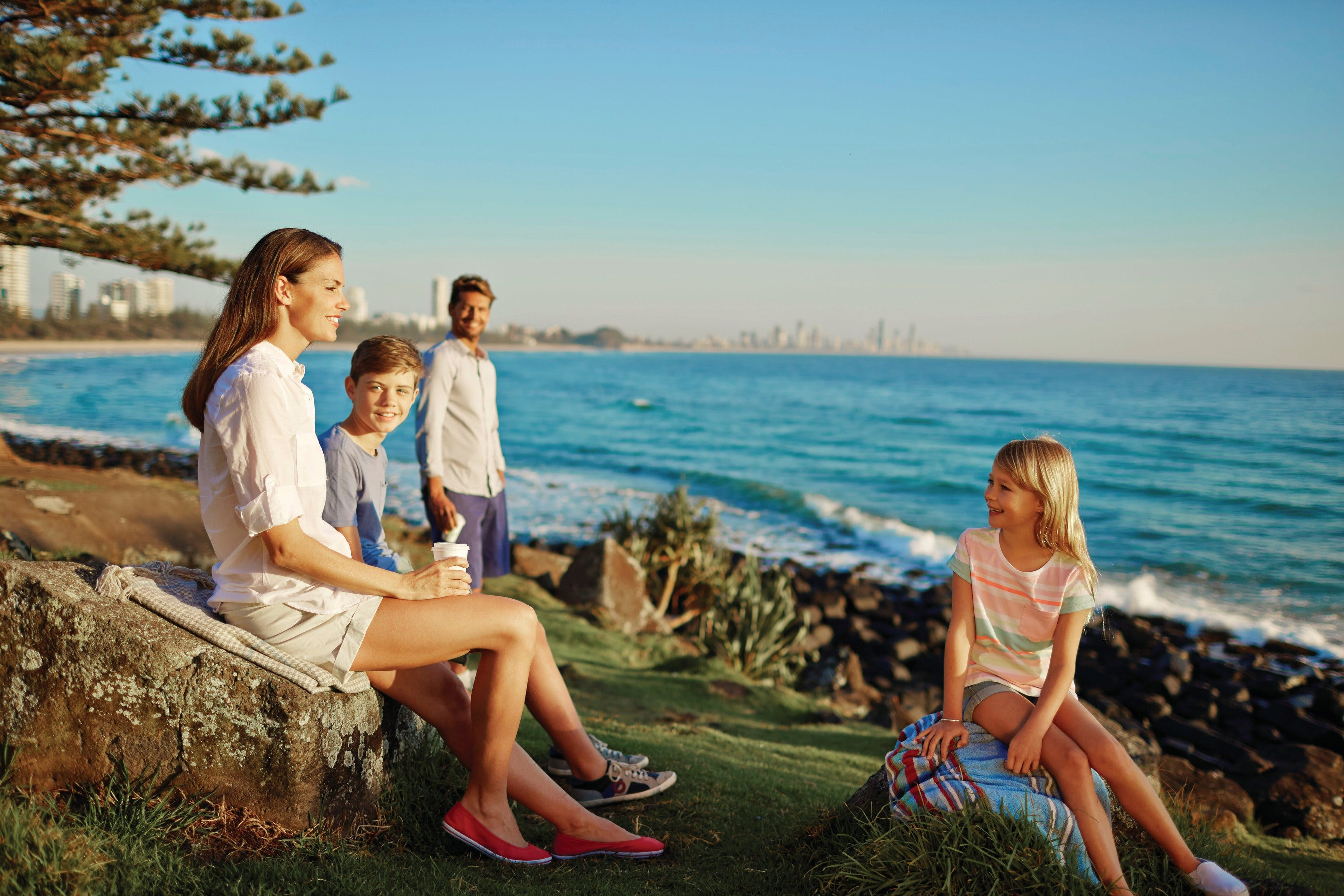 Oceanview Walk, Burleigh Head National Park Logo and Images