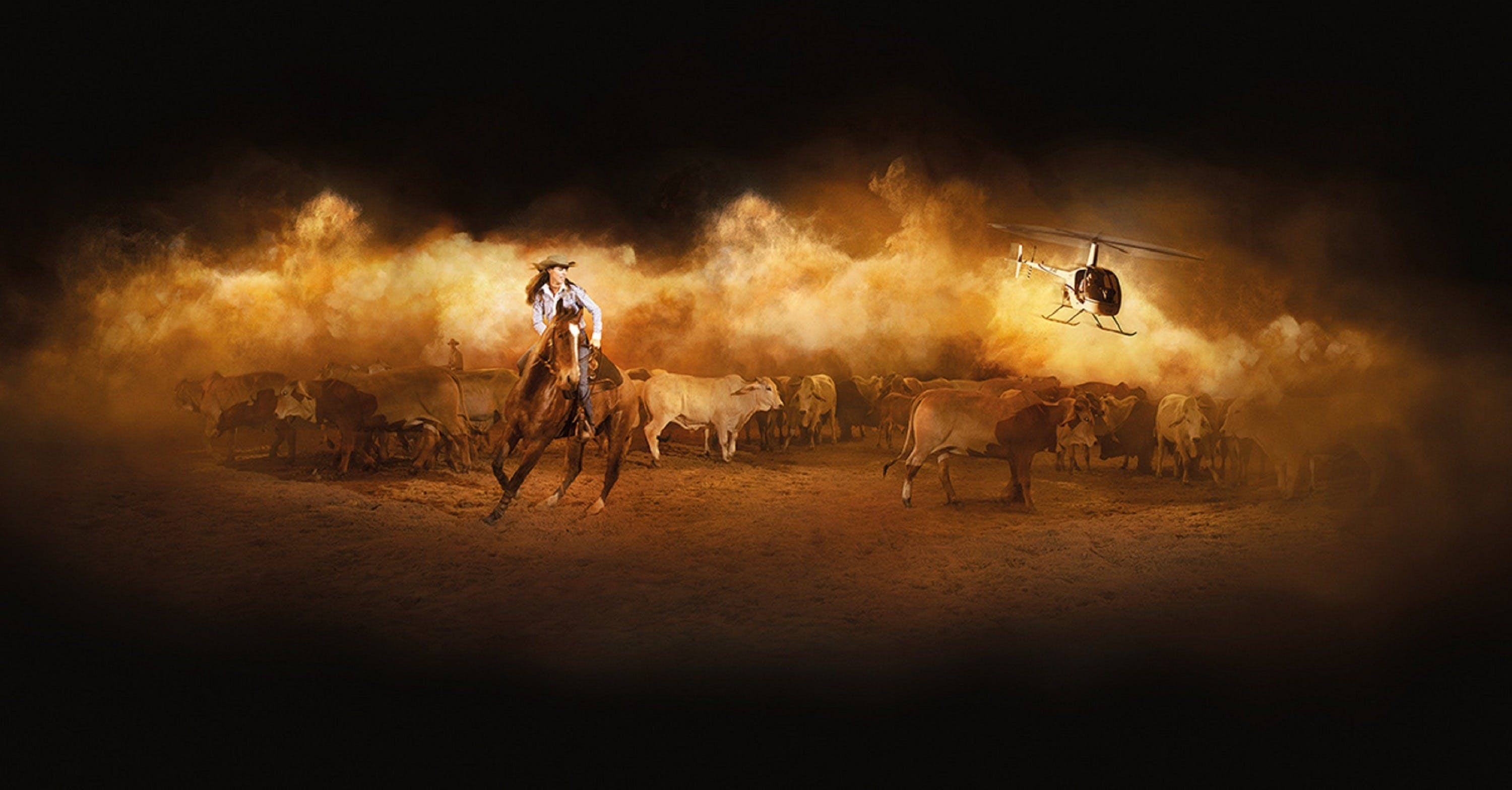 Australian Outback Spectacular's Heartland Logo and Images