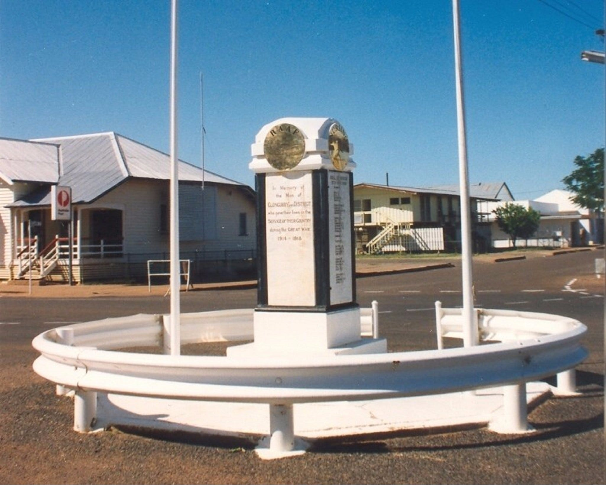 Cloncurry War Memorial Logo and Images